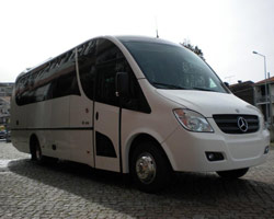 Minibus for hire - 27 seats